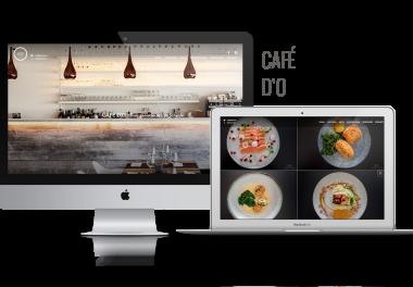 Onepage website visual storytelling